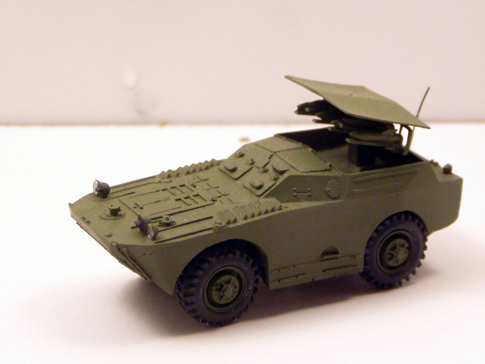 "ATGM launch vehicle ""Malutka"" BRDM base"