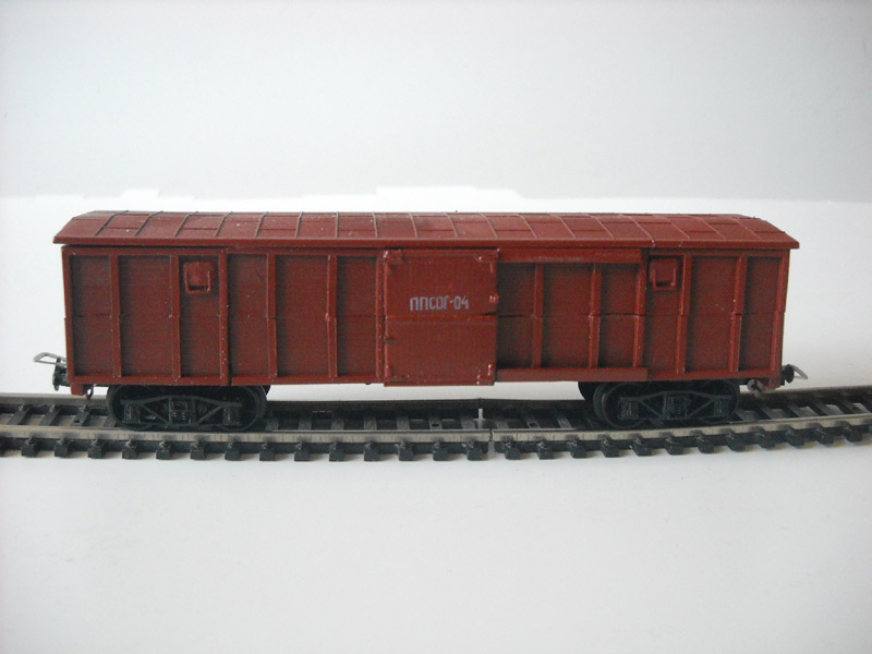 Model of Freight Car with doors